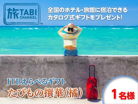 【旅チャンネル】JTBえらべるギフトたびもの撰華(橘)