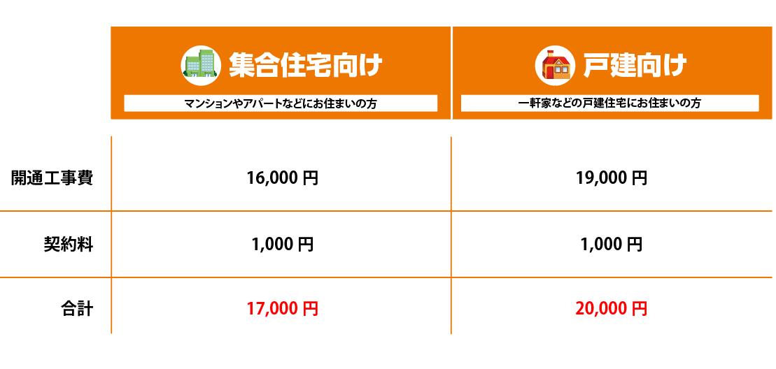 初期費用(新規)